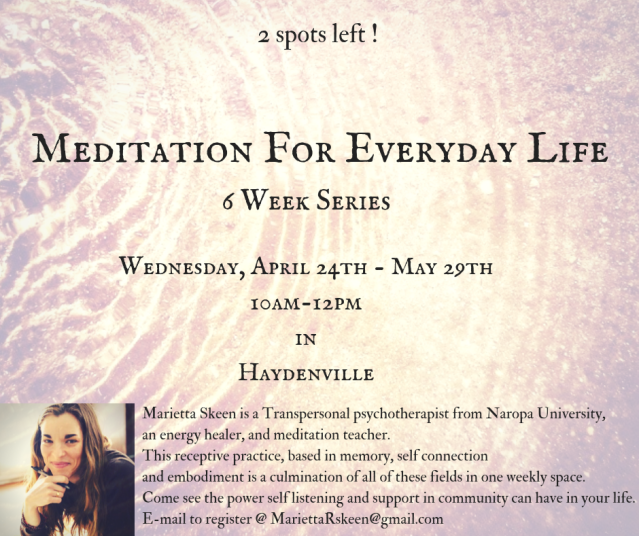 Meditation For Everyday Life (3)